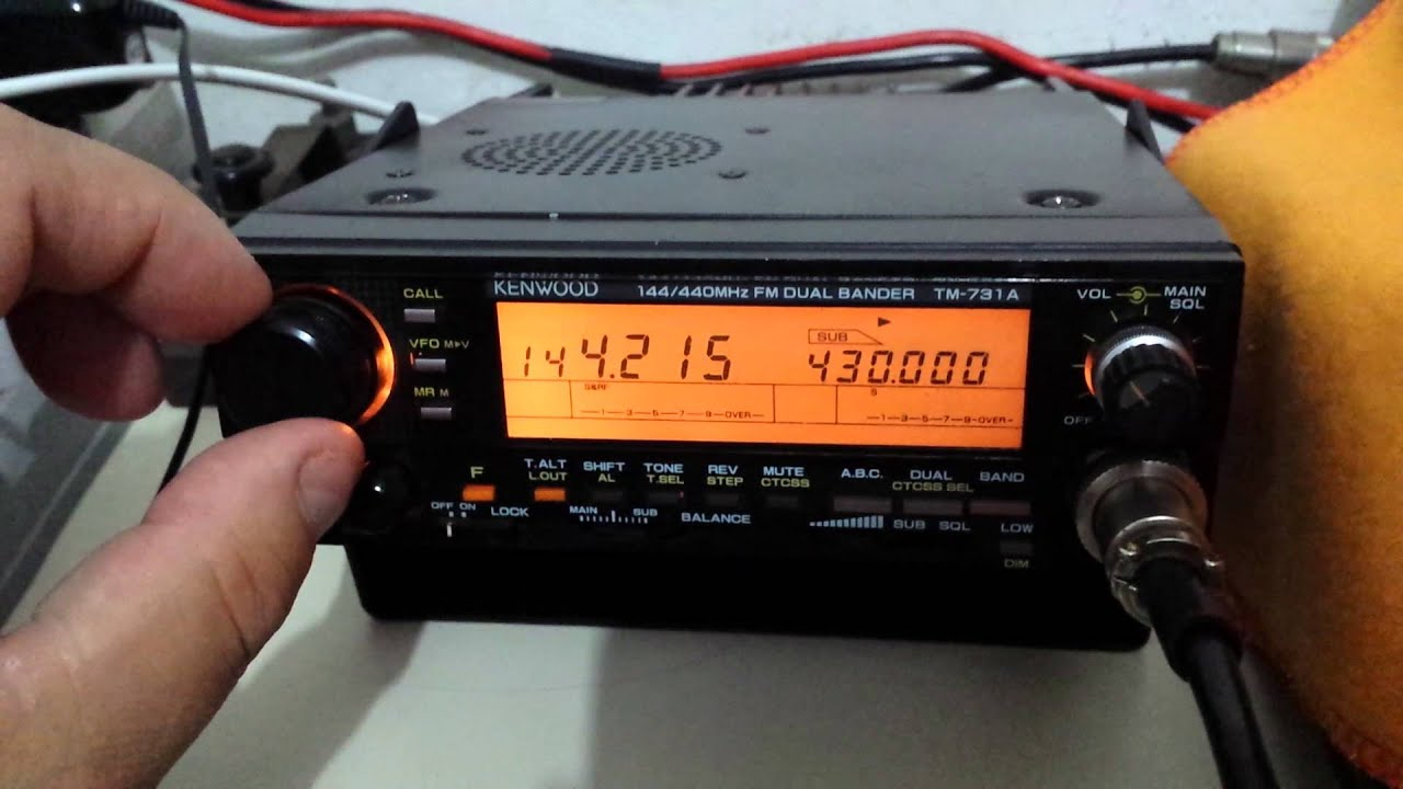 инструкция kenwood tm261a
