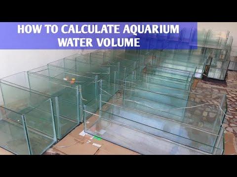 Aquarium Water Volume Calculator