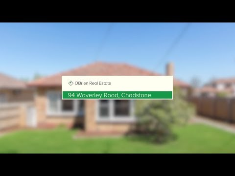 Welcome Home. | 94 Waverley Road, Chadstone | OBrien RE