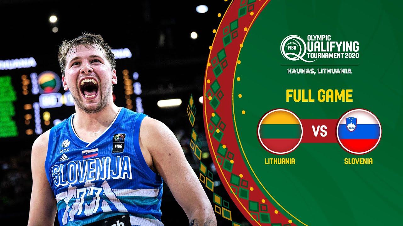 FINAL: Lithuania v Slovenia | Full Game