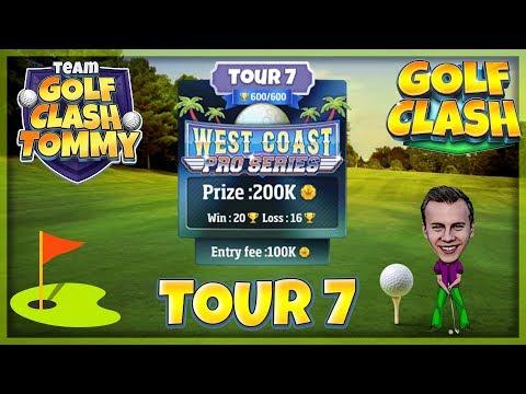 Golf Clash Tips, Hole 5 - Par 3, Oasis - Tropic Kings, Tour 7 - GUIDE/TUTORIAL