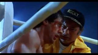 Rocky 3. Rocky Balboa Vs Clubber Lang, 1st fight.