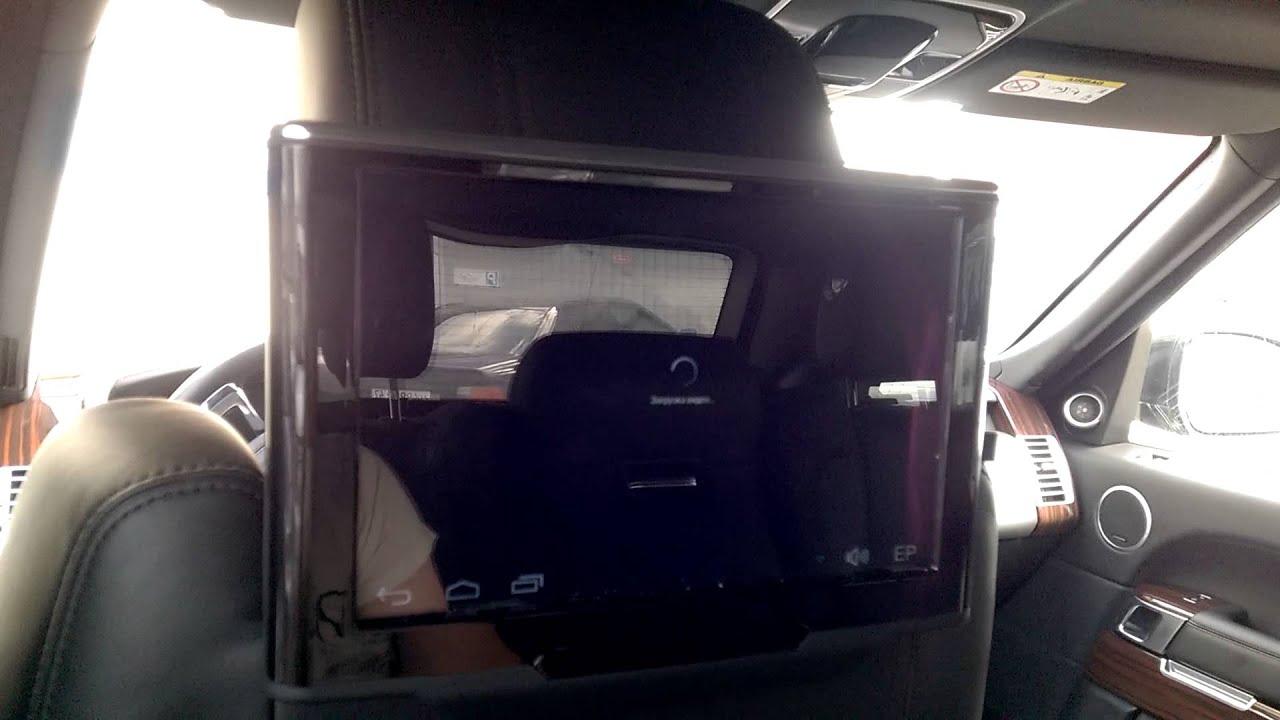Подголовник как телевизор!. Пространство автомобиля не должно пропадать зря!. Некоторые элементы авто могут совмещать в себе несколько.