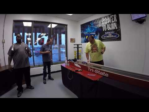 Slot Car Drag Racing (All of the video unedited)