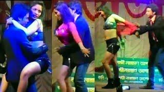 Hot and Sexy Bhojpuri Arkestra Recording Dance 2018 // सटवले रही मोहब्बत के फेविकोल से
