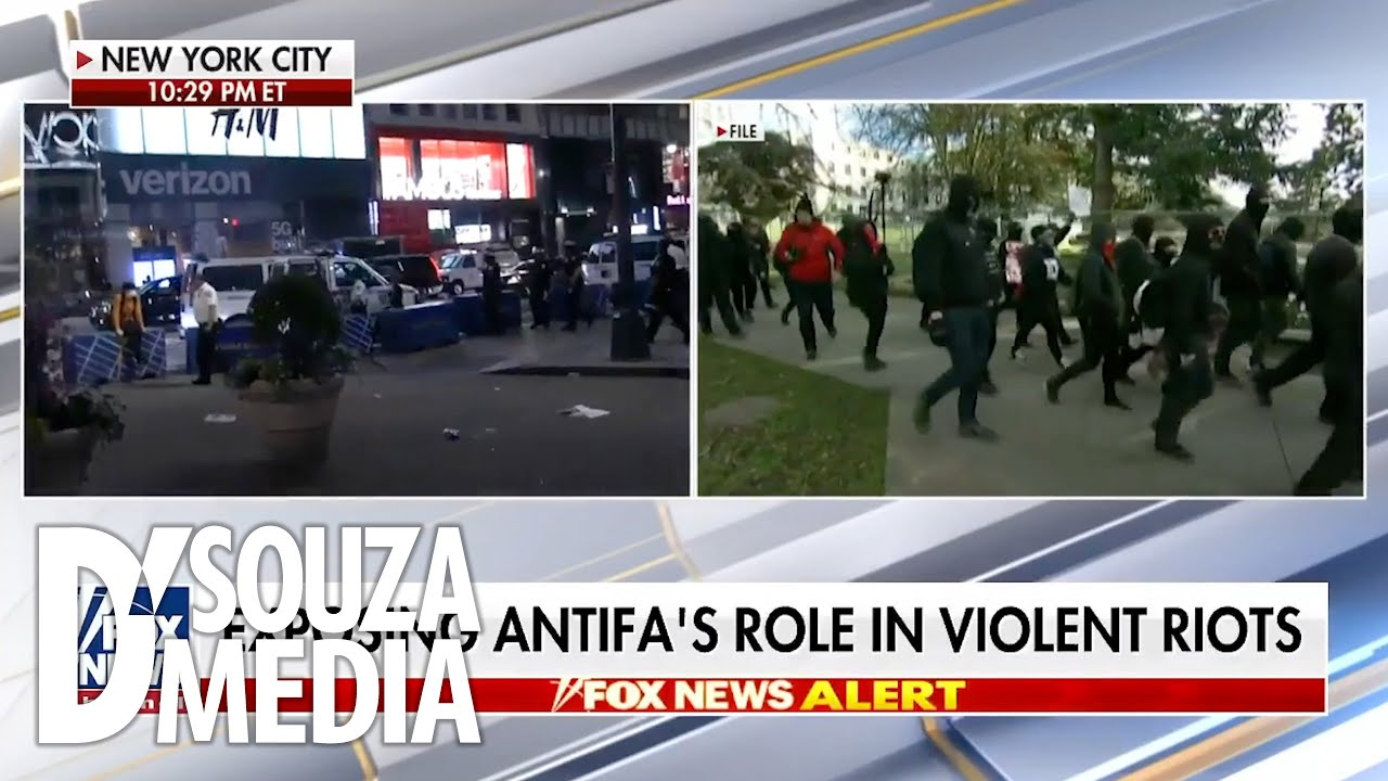 Antifa is a paramilitary organization for Hollywood and academia