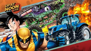 X-Men in the MCU, Horrible Dragon Ball Z Shoes, and Tractors - Up At Noon Live!