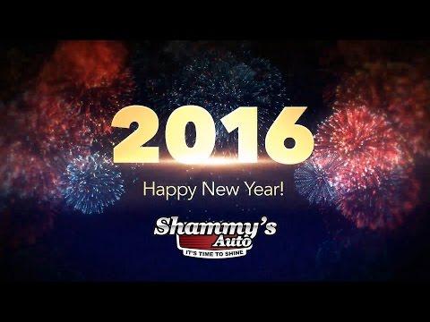 Happy New Year 2016 From ShammysAuto.com