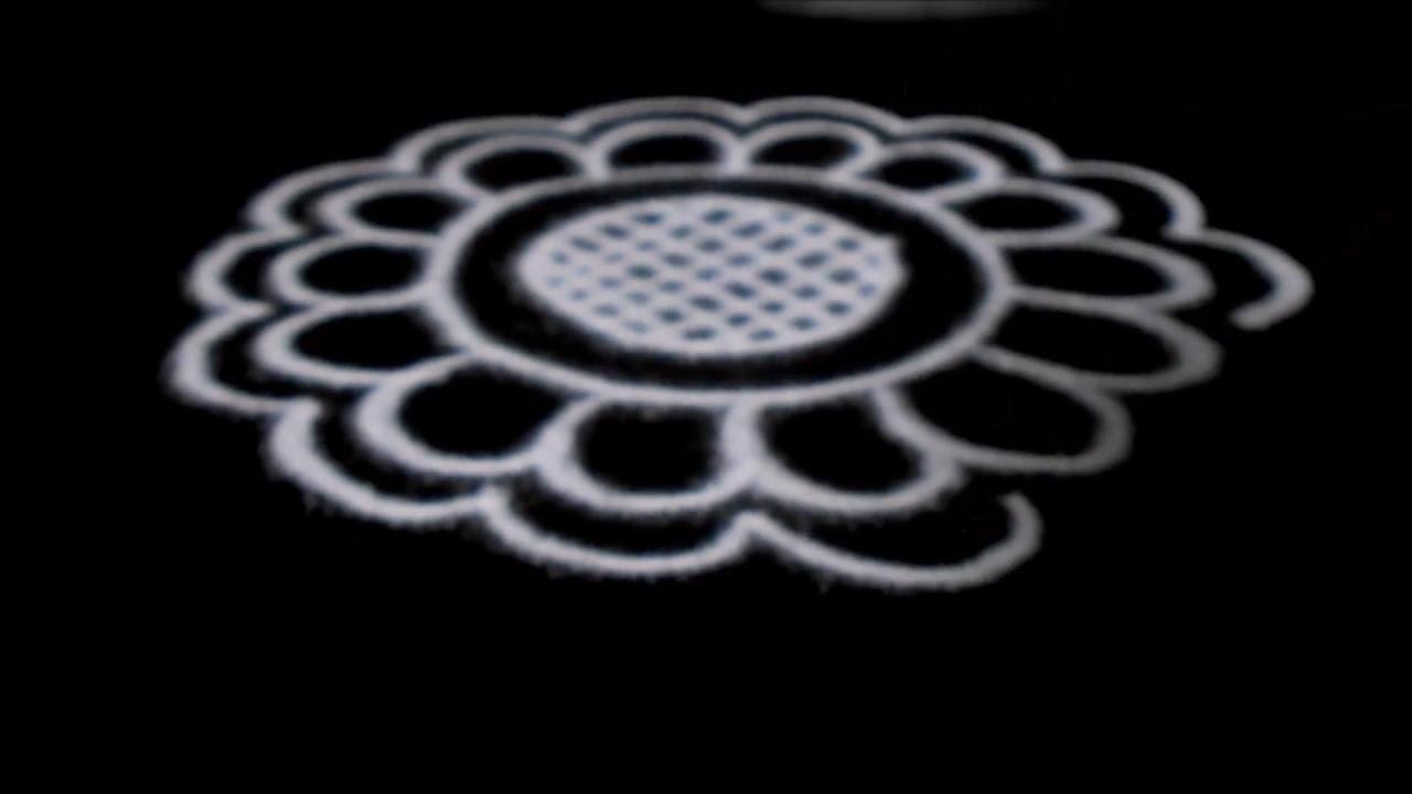 easy rangoli designs for diwali free hand circular design muggulu sudha balaji kolam youtube