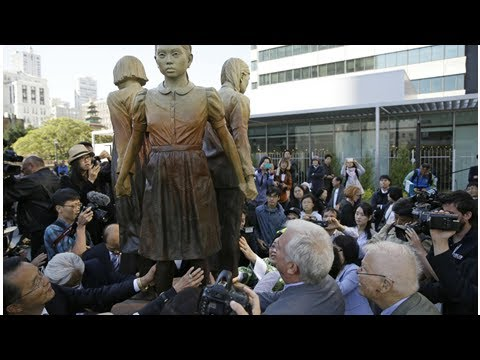 Box TV - Osaka has severed relations with san francisco on a statue memorialising slaves