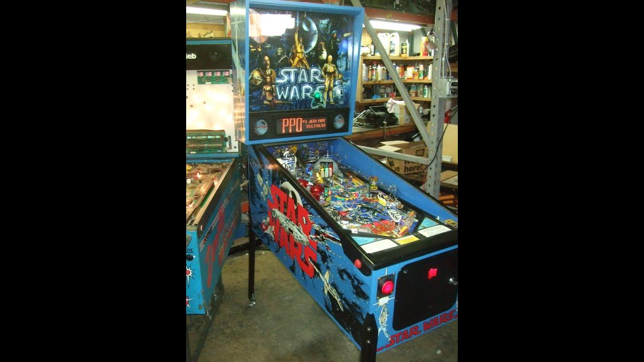 wars data east pinball machine