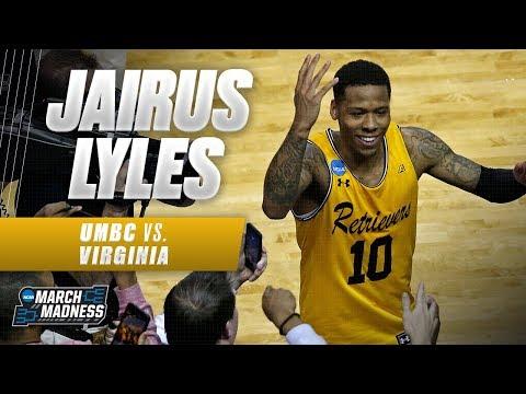 UMBC vs. Virginia: Jairus Lyles could not miss in the Retrievers' historic upset