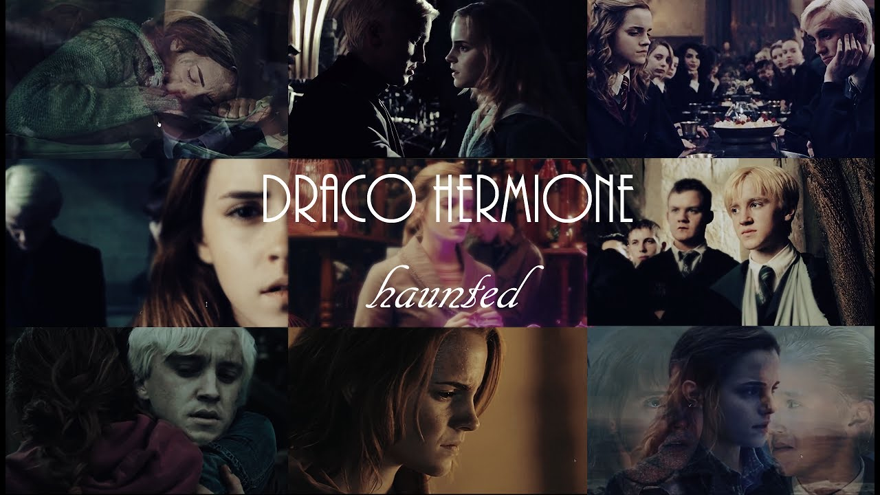 draco hermione || haunted