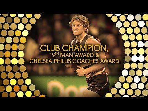 Rory Sloane: Club Champion, 19th Man Award & Coaches Award