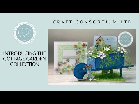 INTRODUCING THE COTTAGE GARDEN COLLECTION FROM CRAFT CONSORTIUM.
