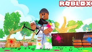 ULTIMATE PAINTBALL CHALLENGE IN ROBLOX