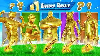 The *RANDOM* MYTHIC GOLD Boss Challenge in Fortnite!