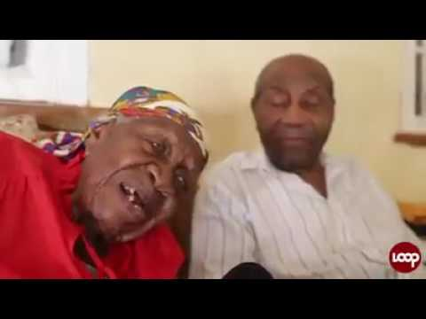 Oldest person ALIVE in the world. 117 years old Jamaican woman Violet Brown. 😊