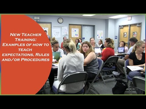 teacher expectations examples