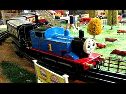 Model Railway Trains Slow Motion Beauty