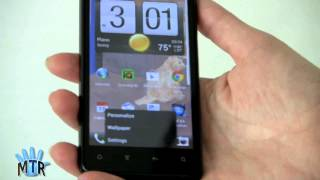 Android 4.0 ICS Running on HTC Vivid