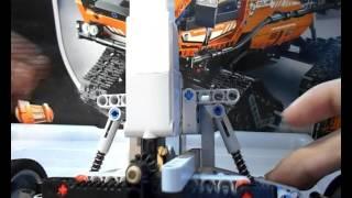 Лего техник + Ev3 обучение машиностроению урок 3 Задний мост