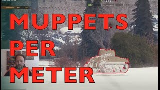 WOT - MPM - Muppets Per Meter More Important Than DPM | World of Tanks