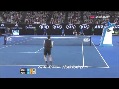 Andy Murray vs Milos Raonic 2016 SemiFinals Highlights