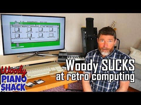 Woody sucks at retro computing | Atari ST, Steinberg Pro 24 and Roland D20