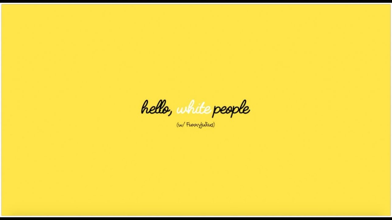 #HelloWhitePeople - Episode 4 (@FunnyJulius)
