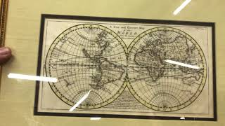 Eric @ Lakewood - Located in Hall A 42. He has American & Foreign Maps that date back to 1700s!