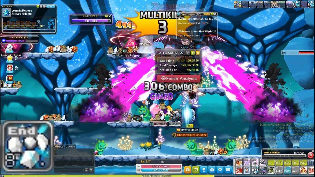 maplestory how to get nodes