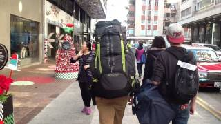 From Metro Station to Hong Kong Hostel