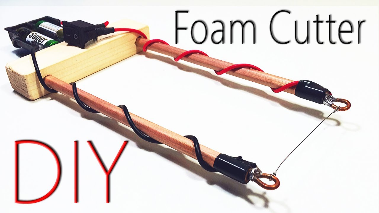 How to make a Foam Cutter at Home? Awesome DIY project! Wow!