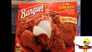 Banquet Hot and Spicy Chicken (food review)
