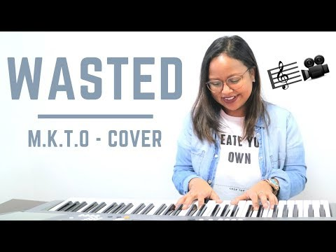 🎼MKTO- WASTED🎵 (Piano cover - acoustic) // rose-and-sun