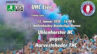 UHC Live - UHC vs. HTHC - 1. Herren Hockey Bundesliga Halle - 12.02.2020 - 16.00 h