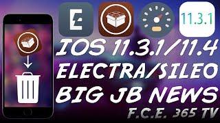 iOS 11.3.1/11.4 b3 ELECTRA JAILBREAK NOW OPEN SOURCE | Sileo Cydia Replacement News