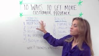 Top Ten Ways To get More Customer Feedback - Whiteboard Friday Mp3