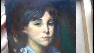 Книга 1. Обзор. Севастопольский художественный музей. Портрет мальчика. Копия.