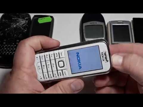 Посылка с аукциона с ретро телефонами Nokia E6-00, Nokia 6161, Nokia 6210, Nokia 6233, Nokia 520