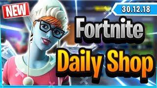 Fortnite Daily Shop *NEW* SUGARPLUM SKIN (30 Dezember 2018)
