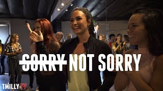 Demi Lovato - Sorry Not Sorry - Choreography by Jojo Gomez - #TMillyTV