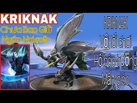 Cách chơi Kriknak mùa 16 | Đáp trả Nak cái đẳng cấp gánh Team Kriknak Rừng | Liên Quân Mobile