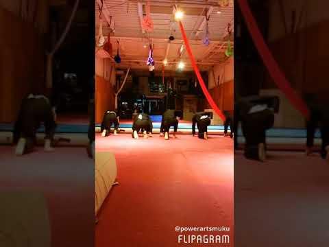 POWER ARTS acrobat demonstration 2018