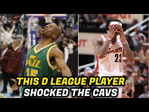 Thumbnail: Meet the NBA Player That Surprised LeBron's Cavs in 2010
