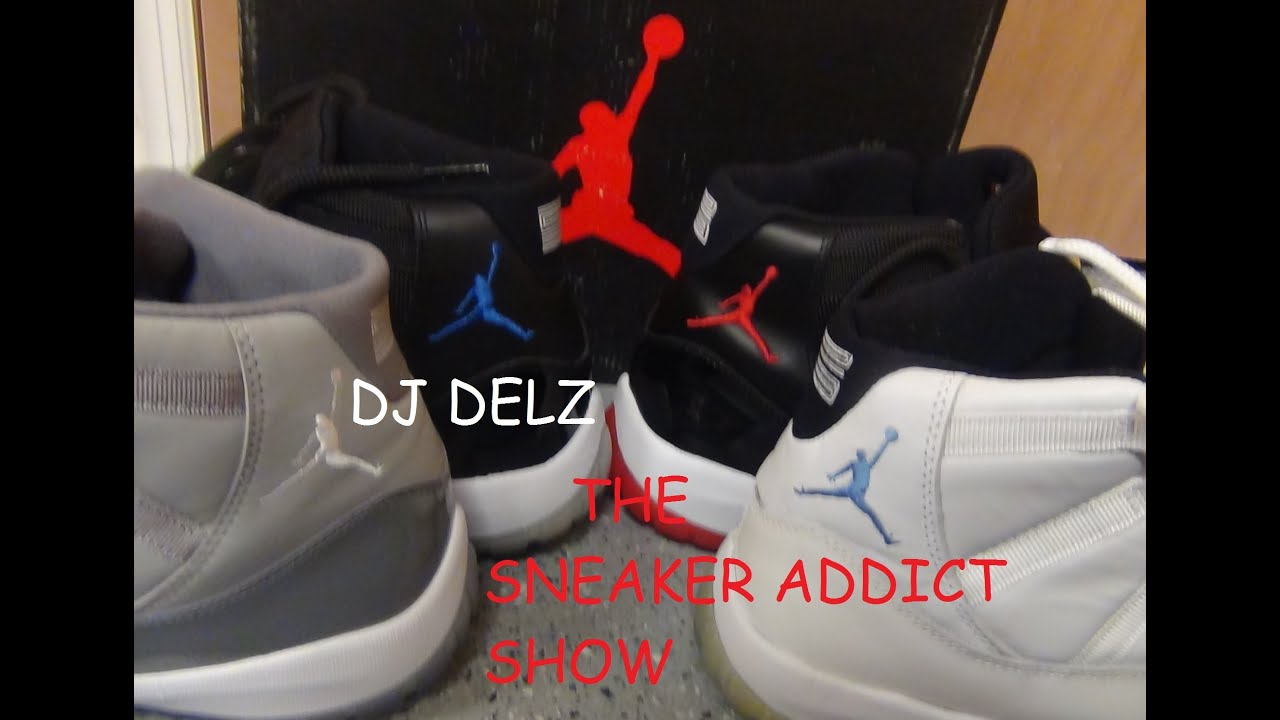 bab3fb5d27e93b Air Jordan XI Breds VS Columbia VS Space Jam VS Cool Grey 11 Sneakers W    DjDelz  PICKONE