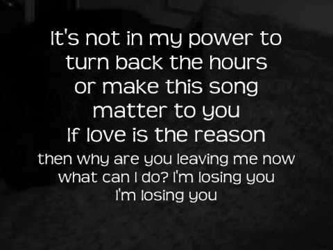 Chester See - Losing You with Lyrics