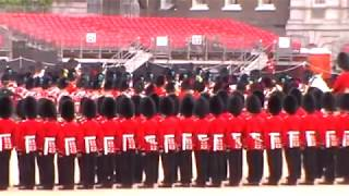 'The Hindenburg Line' March - Guard Mount from Horse Guards Parade