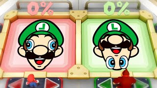 Super Mario Party Funny MiniGames - Mario Vs Luigi Vs Donkey Kong Vs Diddy Kong (Master Cpu)